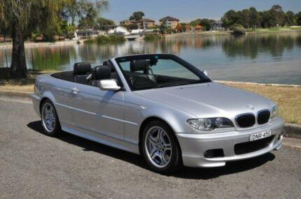 2003 BMW 330CI E46 Silver 5 Speed Auto Steptronic Convertible