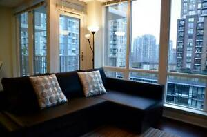 Stylishly furnished 570 sq. ft. apartment in heart of Yaletown