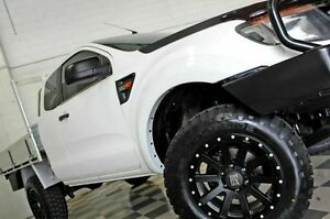 2012 Ford Ranger PX XL 3.2 (4x4) White 6 Speed Manual Super Cab Chassis Burleigh Heads Gold Coast South Preview