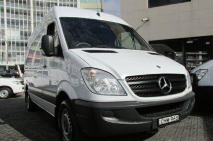 2012 Mercedes-Benz Sprinter 906 MY12 313 CDI MWB White 6 Speed Manual Van