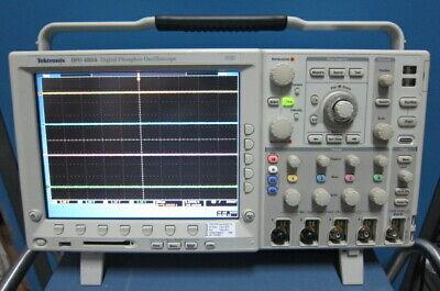 Tektronix Dpo4054 Digital Phosphor Oscilloscope 500mhz 4-ch 2.5gss