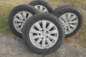 mag wheels alloy to suit commodore with tyres $200.00 firm Upper Rouchel Upper Hunter Preview