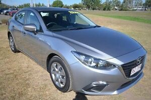 2014 Mazda 3 BM5278 Neo SKYACTIV-Drive Silver 6 Speed Sports Automatic Sedan Vincent Townsville City Preview