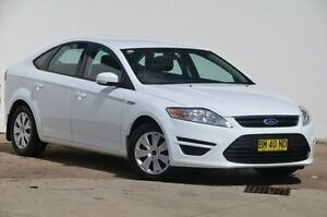 2011 Ford Mondeo MC LX PwrShift TDCi White 6 Speed Sports Automatic Dual Clutch Hatchback Blacktown Blacktown Area Preview