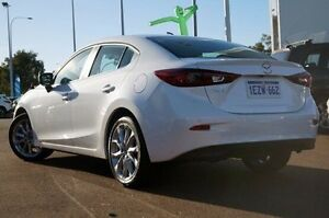 2015 Mazda 3 BM5238 SP25 SKYACTIV-Drive White 6 Speed Sports Automatic Sedan Wilson Canning Area Preview