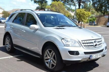 2005 Mercedes-Benz ML350 W163 MY04 Luxury Silver 5 Speed Sports Automatic Wagon Brompton Charles Sturt Area Preview