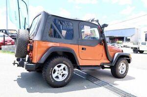 2002 Jeep Wrangler TJ Sport Orange 5 Speed Manual Short Wheel Base Woodridge Logan Area Preview