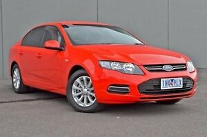 2012 Ford Falcon  Red Sports Automatic Sedan Cranbourne Casey Area Preview