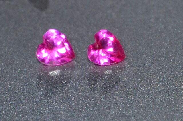 A Single Gorgeous 3mm IF Heart Cut Genuine Red Ruby!!!