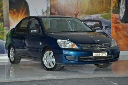 2007 Mitsubishi Lancer CH MY07 ES Blue 4 Speed Auto Seq Sportshift Sedan Liverpool Liverpool Area Preview