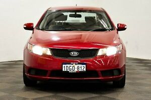 2010 Kia Cerato TD MY11 S Red 6 Speed Manual Sedan Thornlie Gosnells Area Preview