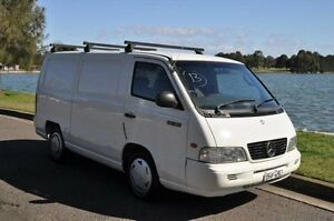 2002 Mercedes-Benz MB 100 White 5 Speed Manual Van Croydon Burwood Area Preview
