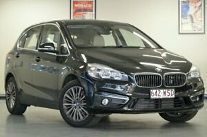 2015 BMW 218d F45 Luxury Line Active T Black Automatic Hatchback Chatswood Willoughby Area Preview