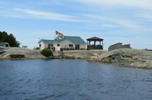 GEORGIAN BAY PRIVATE FAMILY ISLAND COTTAGE FOR RENT