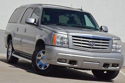 Cadillac : Escalade Base Sport Utility 4-Door 2004 CADILLAC ESCALADE ESV AWD LTH/HTD SEATS $599 SHIP