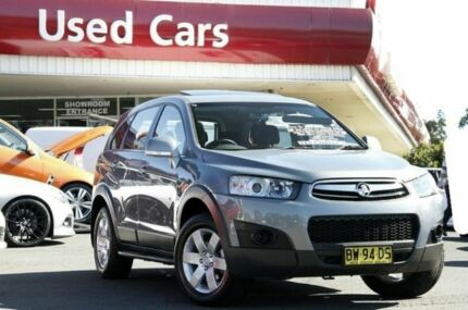 2013 Holden Captiva CG MY13 7 SX Grey 6 Speed Auto Seq Sportshift Wagon Liverpool Liverpool Area Preview