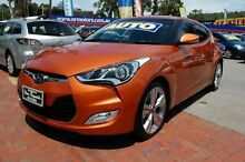 2014 Hyundai Veloster FS MY13 + Orange 6 Speed Auto Dual Clutch Coupe Upper Ferntree Gully Knox Area Preview