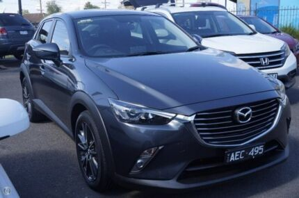 2015 Mazda CX-3 DK4W7A sTouring SKYACTIV-Drive AWD Grey 6 Speed Sports Automatic Wagon
