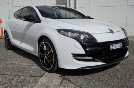 2013 Renault Megane III D95 R.S. 265 Trophy White 6 Speed Manual Coupe