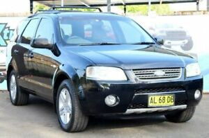 2006 Ford Territory SY Ghia Black Sports Automatic Wagon Campbelltown Campbelltown Area Preview