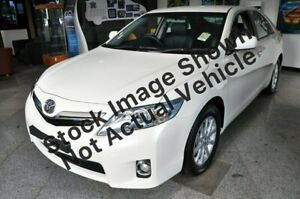 2010 Toyota Camry AHV40R MY10 Hybrid Luxury White 1 Speed Constant Variable Sedan Hybrid Berrimah Darwin City Preview