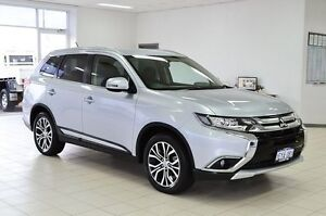 2015 Mitsubishi Outlander ZK MY16 LS (4x4) Silver Continuous Variable Wagon Morley Bayswater Area Preview