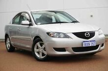 2005 Mazda 3 BK10F1 Maxx Silver 5 Speed Manual Sedan Wangara Wanneroo Area Preview