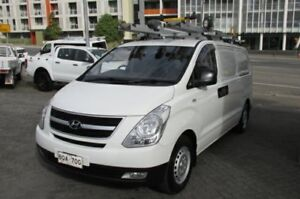 2011 Hyundai iLOAD TQ MY11 White 5 Speed Automatic Van