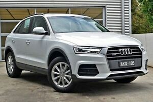 2016 Audi Q3 8U MY17 TDI S tronic quattro White 7 Speed Sports Automatic Dual Clutch Wagon Berwick Casey Area Preview