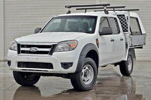 2011 Ford Ranger PK XL Crew Cab White 5 Speed Automatic Cab Chassis Frankston Frankston Area Preview