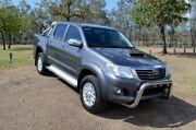 2014 Toyota Hilux KUN26R MY14 SR5 Double Cab Grey 5 Speed Automatic Utility Rockhampton Rockhampton City Preview