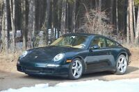 Porsche Carrera winter tires with rims