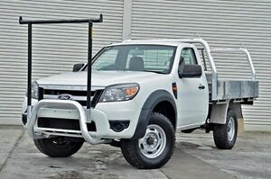2011 Ford Ranger PK XL Hi-Rider White 5 Speed Manual Cab Chassis Seaford Frankston Area Preview