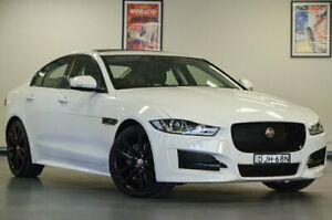 2016 Jaguar XE X760 MY16 20d R-Sport White Semi Auto Sedan Chatswood Willoughby Area Preview