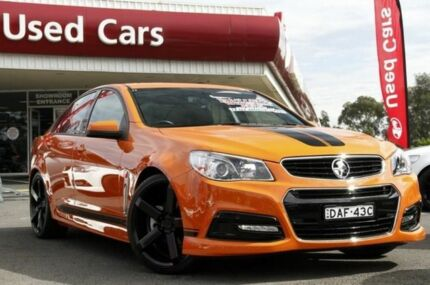 2014 Holden Commodore VF MY14 SV6 Orange 6 Speed Auto Seq Sportshift Sedan Liverpool Liverpool Area Preview