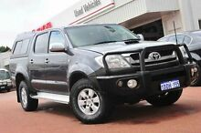 2009 Toyota Hilux KUN26R MY10 SR5 Grey 4 Speed Automatic Utility Balcatta Stirling Area Preview