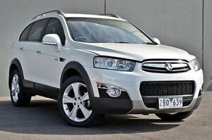 2012 Holden Captiva CG Series II MY12 7 AWD LX White 6 Speed Sports Automatic Wagon Cranbourne Casey Area Preview