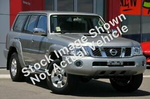 2011 Nissan Patrol GU 7 MY10 ST Silver 5 Speed Manual Wagon Midvale Mundaring Area Preview