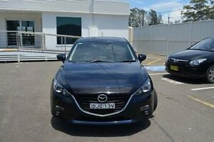 2014 Mazda 3 BM5438 SP25 SKYACTIV-Drive Blue 6 Speed Sports Automatic Hatchback Gosford Gosford Area Preview