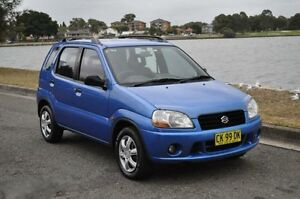 2000 Suzuki Ignis GL Blue 4 Speed Automatic Hatchback Croydon Burwood Area Preview