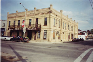 * NEW PRICE * Former Hotel/Bar/Rest 20+rooms 12,000' sq,Chesley