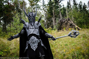 Sauron LOTR Halloween - 1st prize Comiccon Costume - rent/buy
