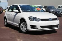2015 Volkswagen Golf VII MY15 90TSI DSG White 7 Speed Sports Automatic Dual Clutch Hatchback Cannington Canning Area Preview