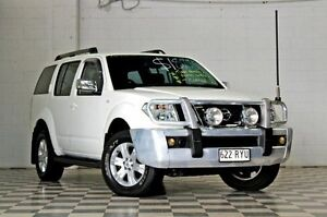 2006 Nissan Pathfinder R51 ST-L White 4 Speed Automatic Wagon Burleigh Heads Gold Coast South Preview