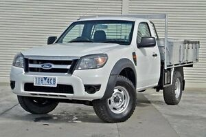 2010 Ford Ranger PK XL Hi-Rider White 5 Speed Manual Cab Chassis Seaford Frankston Area Preview