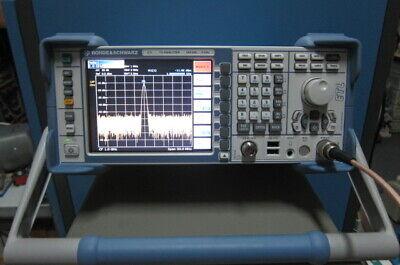 Rohde Schwarz Rs Etl Tv Analyzer 500khz-3ghz With Tracking Generator