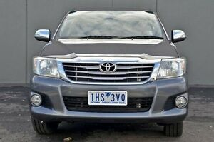2012 Toyota Hilux  Grey Automatic Utility Cranbourne Casey Area Preview