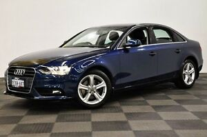2014 Audi A4 B8 8K MY14 Multitronic Blue 8 Speed Constant Variable Sedan Edgewater Joondalup Area Preview