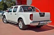 2013 Nissan Navara D40 S6 MY12 ST White 5 Speed Sports Automatic Utility Dandenong Greater Dandenong Preview