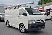 2010 Toyota Hiace  White Manual Van Cranbourne Casey Area Preview